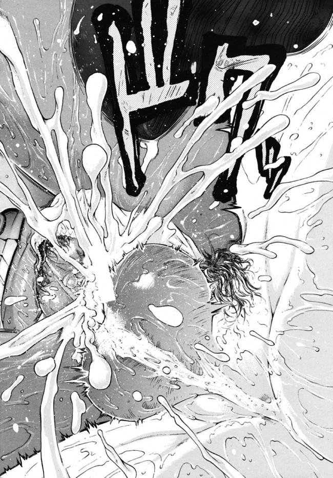 【エロ漫画・エロ同人誌】黒ギャル女子校生の綾奈が幼馴染の正一に子供扱いされてムキになった結果、友達の黒ギャルがたきつけて来てドロドロの3Pセックスに…w (26)