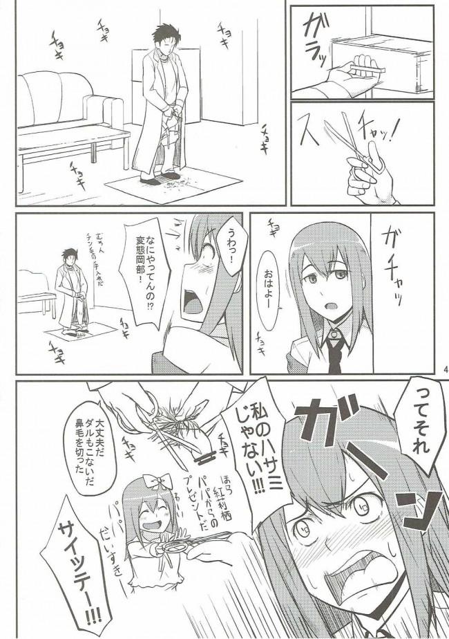 【シュタインズゲート エロ漫画・同人誌】した毛 (3)