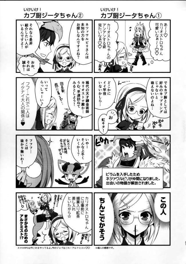 【グラブル エロ同人】錬金術師に王冠を 1 (25)