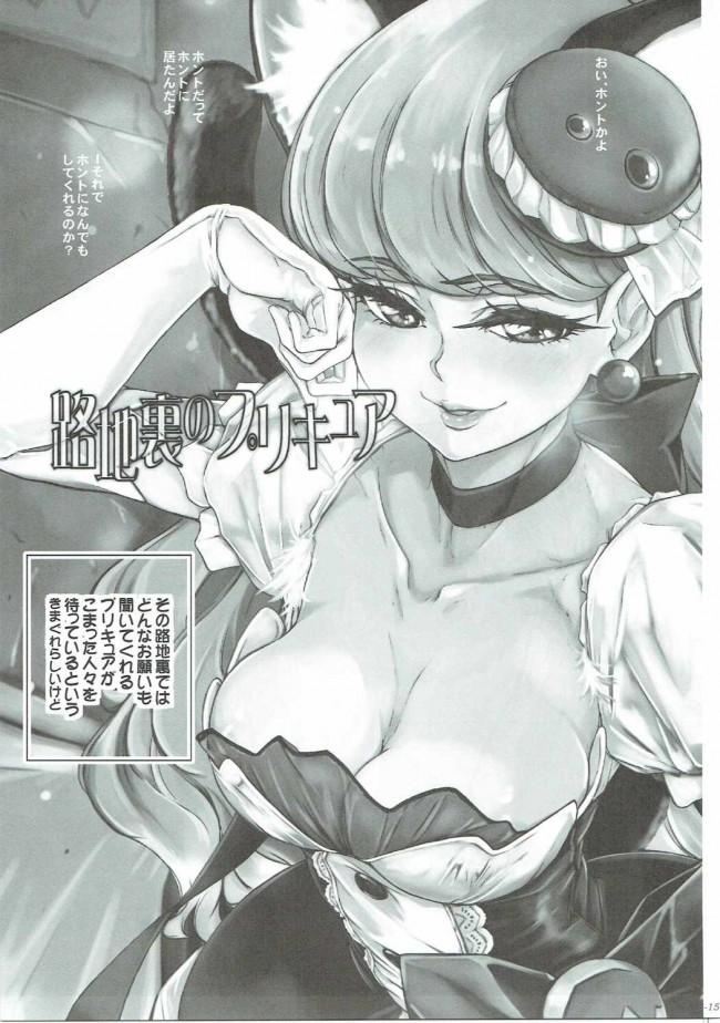 【プリアラ エロ同人】路地裏のプリキュア (16)