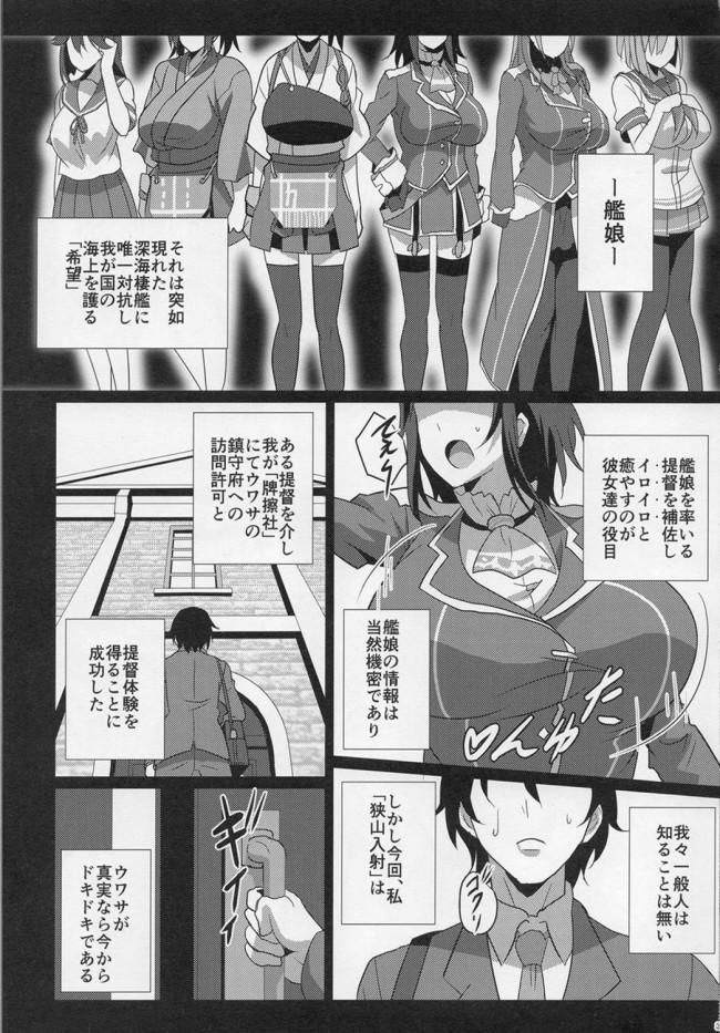 【艦これ エロ同人】乳艦隊と挟撃演習 (2)