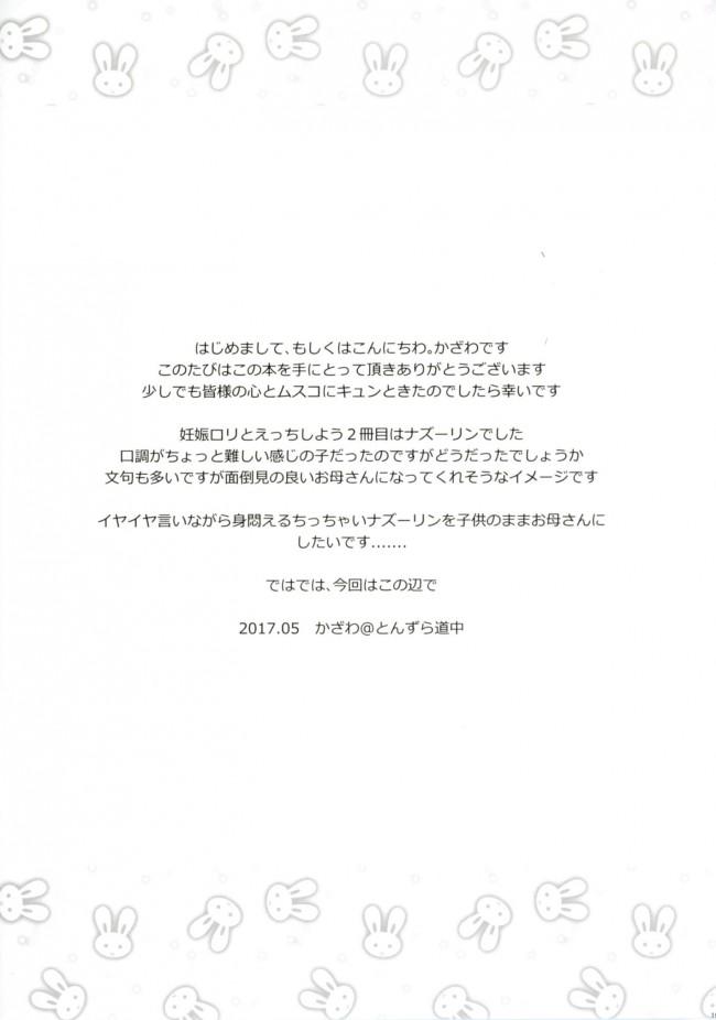 【東方 エロ漫画・エロ同人】子作りチューい! (18)