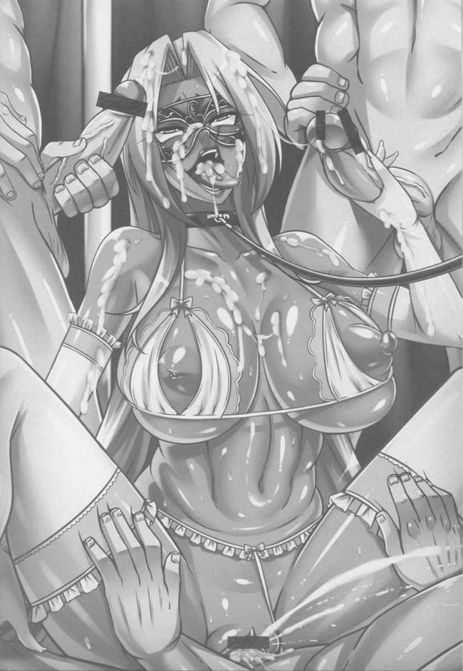 【対魔忍アサギ エロ漫画・エロ同人誌】闇に堕つくノ一たち FINAL (41)