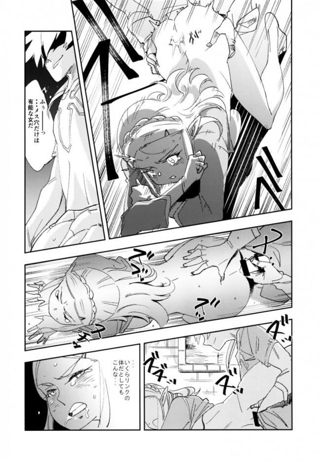 【ゼルダの伝説 エロ漫画・エロ同人】TRUST&CENTURY (12)