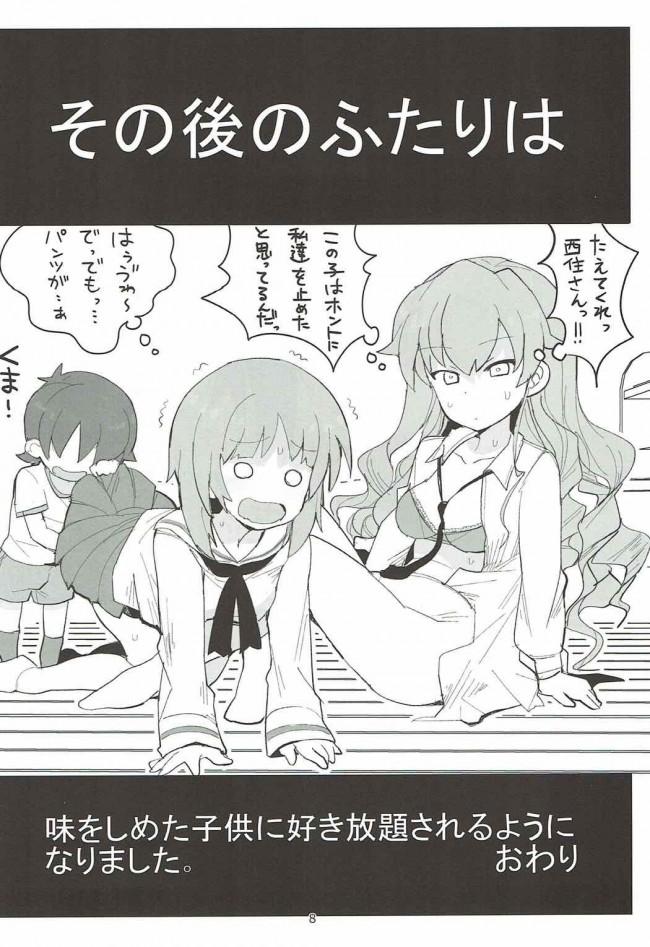 【ガルパン エロ漫画・エロ同人】やさしいふたり (7)
