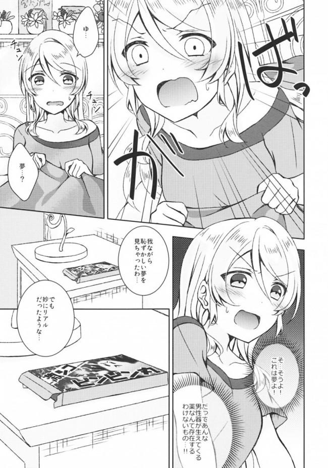 【ラブライブ! エロ漫画・エロ同人】ふたなりせっくす (28)