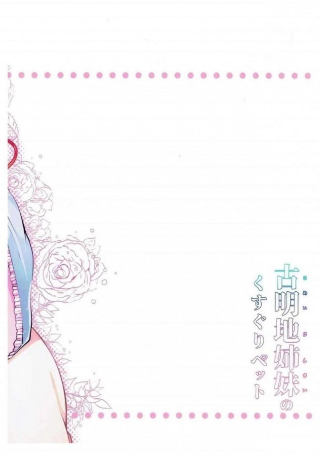 【東方 エロ漫画・エロ同人】古明地姉妹のくすぐりペット (27)
