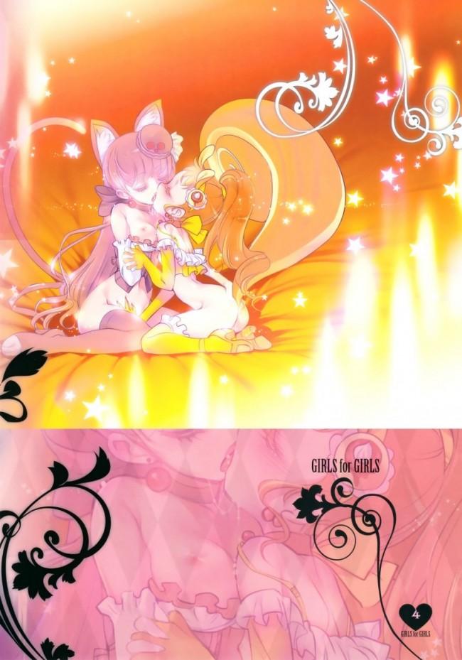 【プリキュア エロ漫画・エロ同人】少女用少女 Vol.1 プリキュアアラモード編 (3)