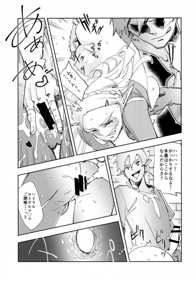 【ゼルダの伝説 エロ漫画・エロ同人】TRUST&CENTURY (11)