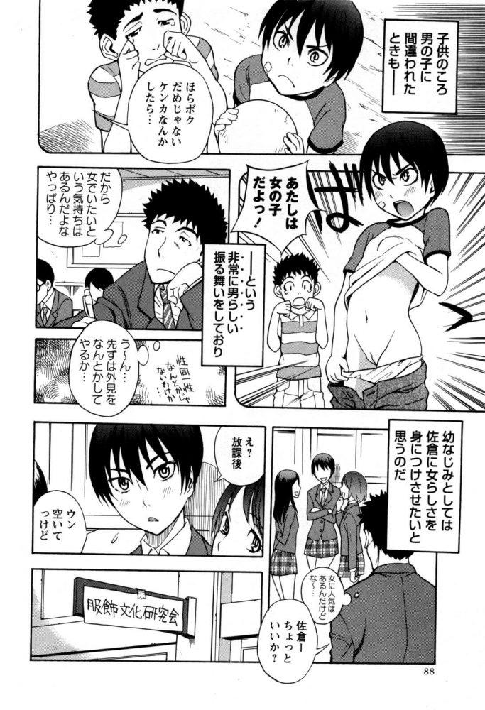 【エロ漫画】男の娘じゃないしっ!!【しでん晶 エロ同人】 (2)