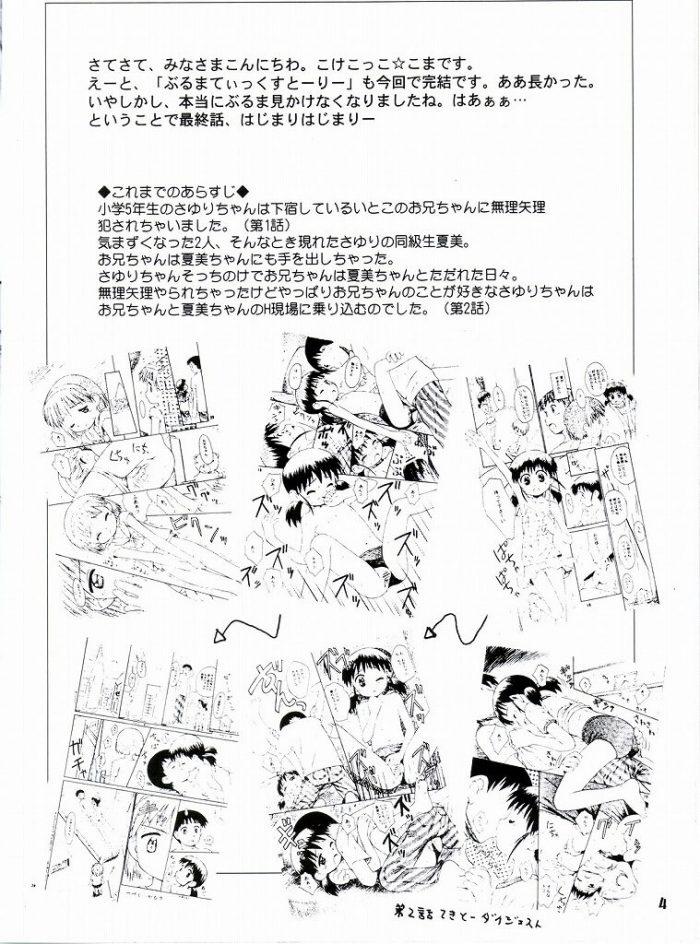 【エロ漫画】ぶるまてぃっくすとーりー 3【じどー筆記 エロ同人】 (3)