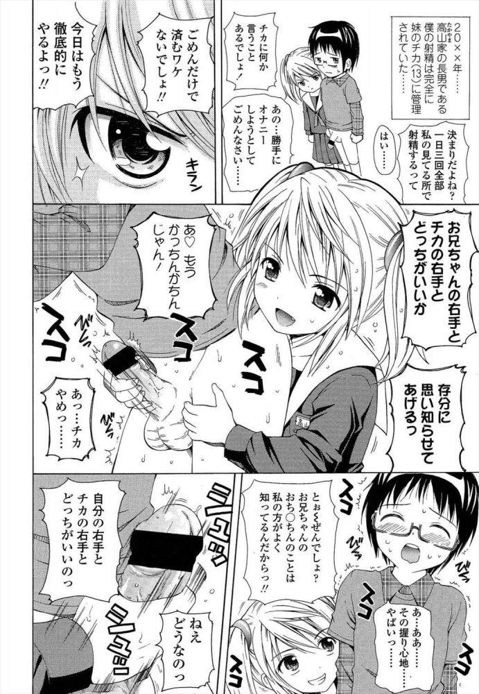 【エロ漫画】僕の妹は射精管理ができる【ねんど。 エロ同人】 (4)