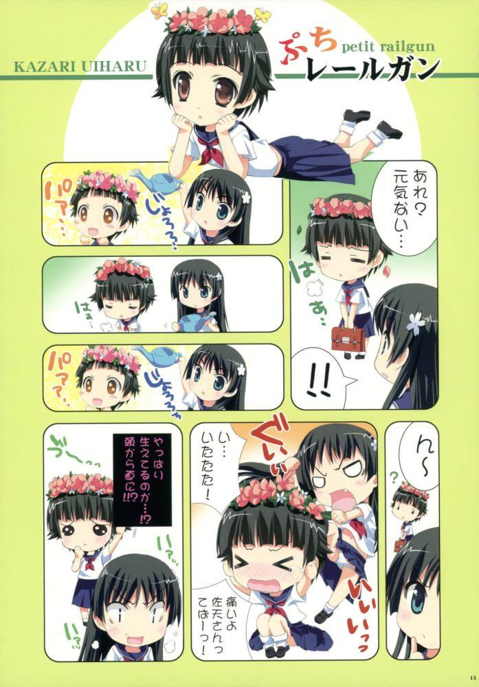 【エロ同人 とある科学の超電磁砲】私のお姉様【無料 エロ漫画】 (14)