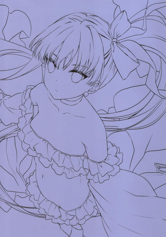 【エロ同人 FGO】巨乳水着から制服、ドレスに身を纏った可愛く美しいFGOのキャラたちが大集合。【無料 エロ漫画】 (7)